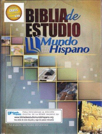 Biblia de Estudio - Mundo Hispano (pasta dura)
