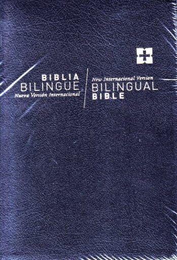 Biblia Bilingue NVI / NIV (color negro