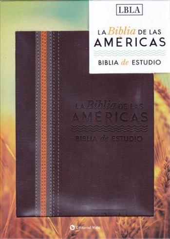 Biblia de Estudio LBLA (piel sintético)
