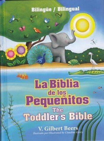 La Biblia de los Pequeñitos Bilingüe (ilustrada de todo color - pasta dura)
