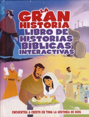 La Gran Historia - libro de historias Bíblicas interactivas
