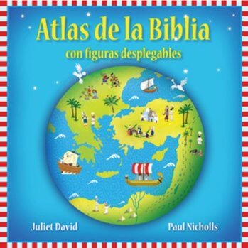 Atlas de la Biblia - para niños con figuras desplegables (pasta dura)
