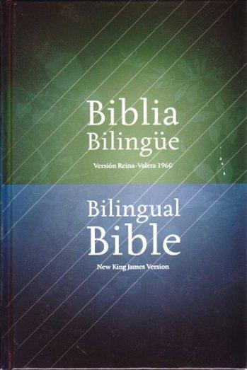 Biblia Bilingue RVR60/NKJV (Tapa Dura)