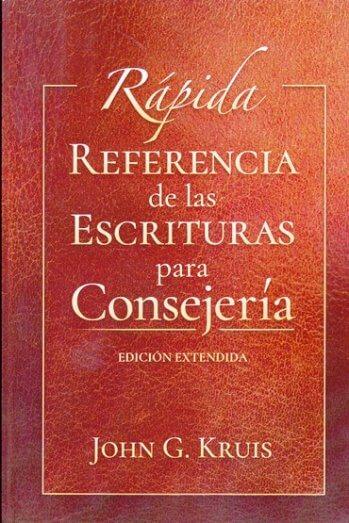 Rápida Referencia de las Escrituras para Consejería - edición extendida