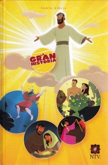 Biblia Interactiva NTV - La Gran Historia (tapa dura)