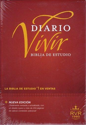 Biblia de Estudio Diario Vivir - RV60 (tapa dura)