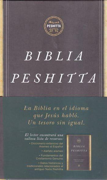 Biblia Peshitta - revisada y aumentada (pasta dura)