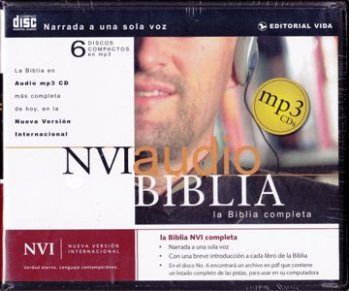 Biblia NVI Audio MP3 (CD)
