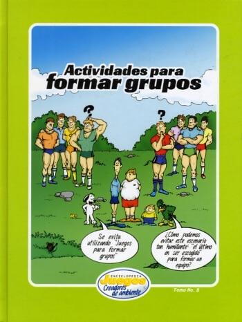 EJCA - Actividades Para Formar Grupos - Tomo No. 8