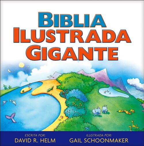 La Biblia Ilustrada gigante (todo color - pasta dura)