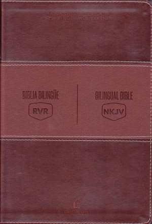 Biblia Bilingue RVR60 / NKJV (piel)